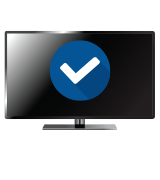 watch digital (QAM) channels on a flat-screen TV with no equipment
