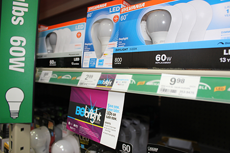 Switch to LED in Your Home with the Be Bright Program