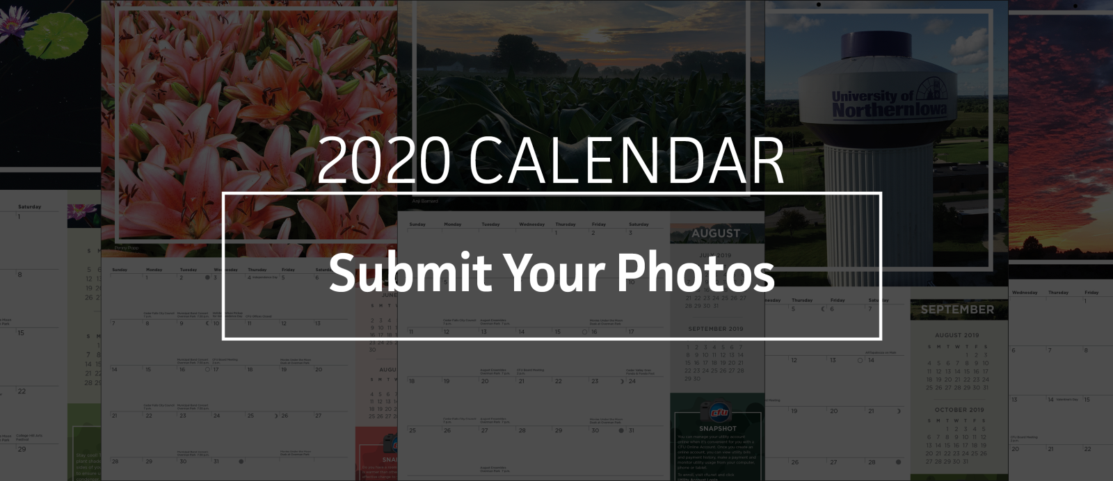 Submit your photos for the 2020 CFU Calendar