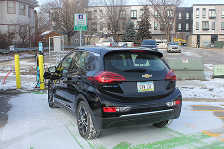 Public Electric Vehicle Charger Now Available