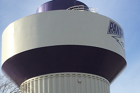 Panther Water Tower Refresh