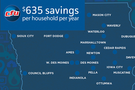 Rate Savings Add Up for Cedar Falls Residents