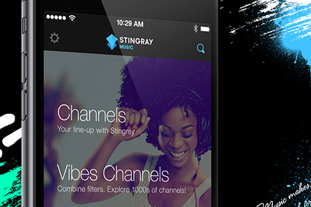 Free Digital Music From Stingray