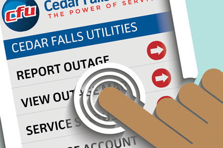Report Utility Outages with CFU2Go