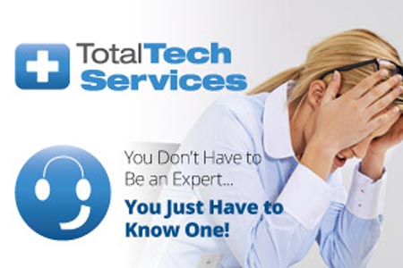 Call TotalTech and Solve Your IT Headaches